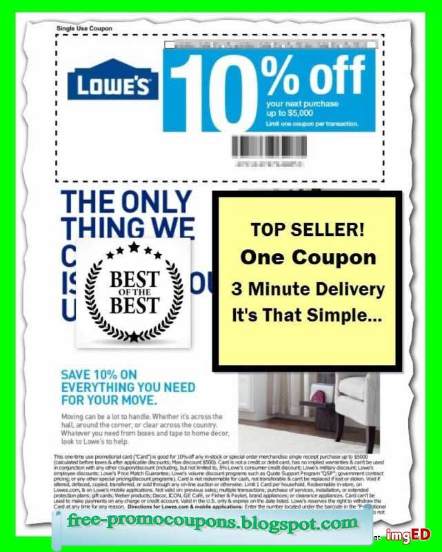 lowes in store printable coupon 2019