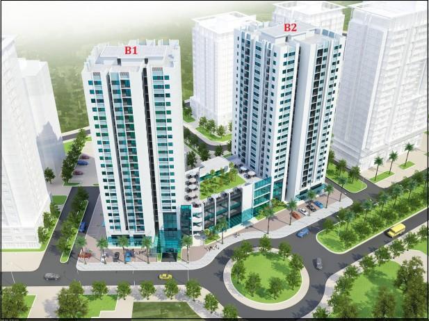 Chung cư Twin Tower B1 B2 Linh Đàm