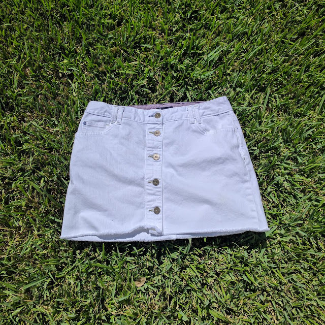 Vintage Tommy Hilfiger Skirt in White