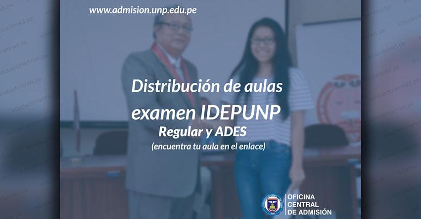 IDEPUNP: Distribución de aulas para el Tercer Examen del Domingo 31 de Marzo - UNP - www.unp.edu.pe
