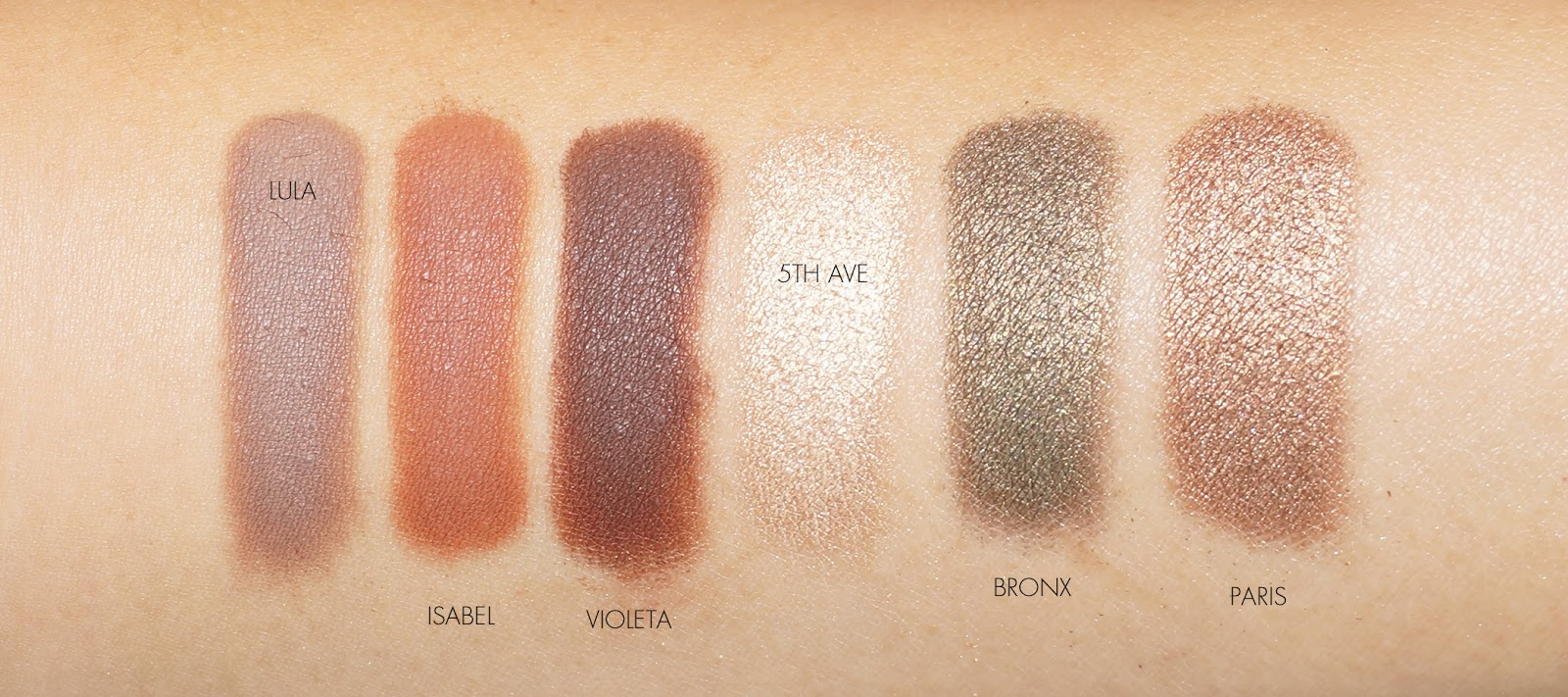 The Beauty Look Book - Anastasia Beverly Hills Master Palette by Mario Swatches