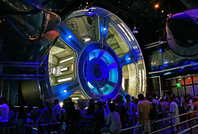 Mission Space en Disney Epcot en Orlando