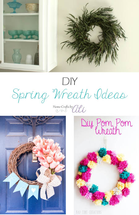 Colorful DIY Spring Wreath Ideas