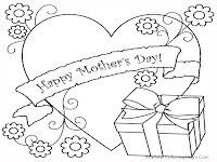 Mothers Day Coloring Pages 2013