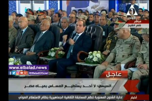 شاهد بالفيديو السيسى يهين وزير الدفاع ويعتذر له فى النهاية