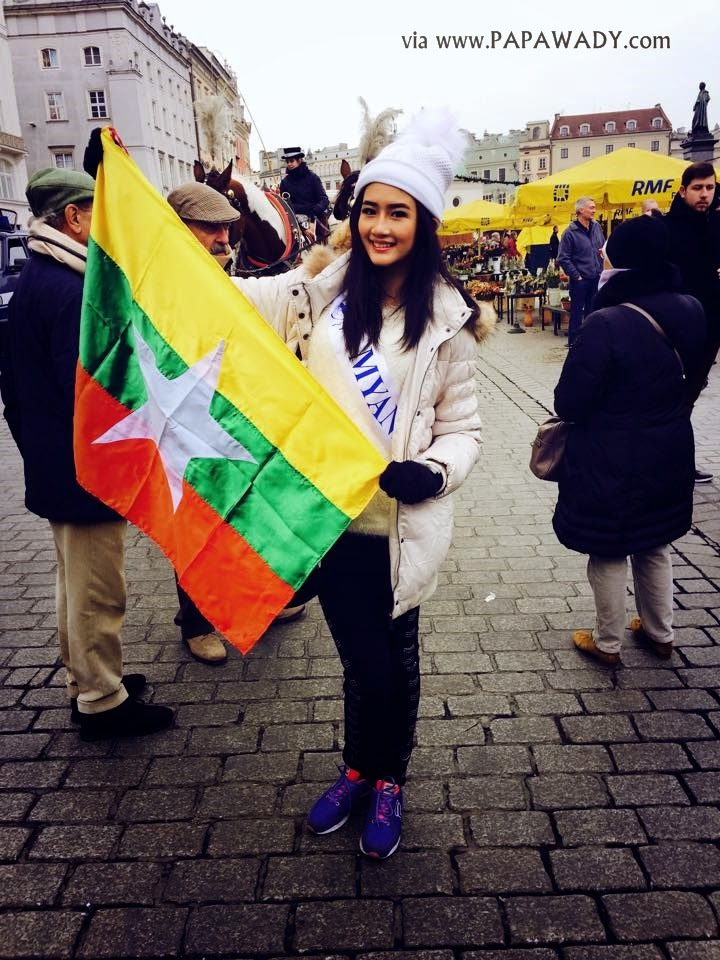 Miss Supranational Myanmar Han Thi in Poland