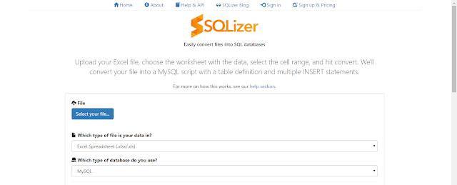 Cara Convert .XLSX Ke .SQL 4