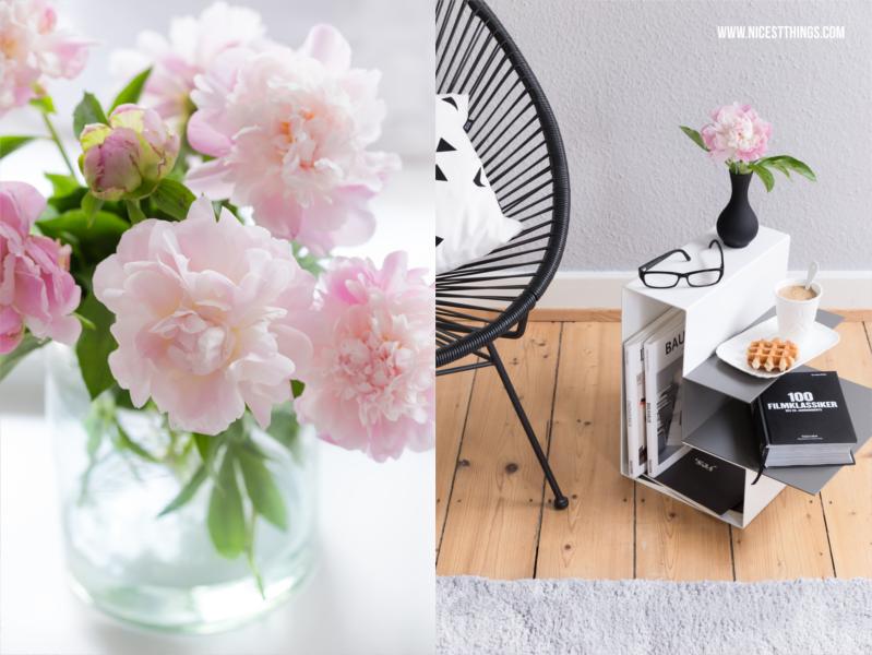 Magazine und Buecher im Wohnzimmer aufbewahren
