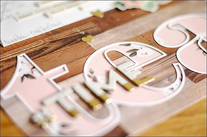 Papierwerkstatt - Märzkit - Scrapbooking
