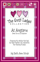 quilt pattern and story at anytime book 10