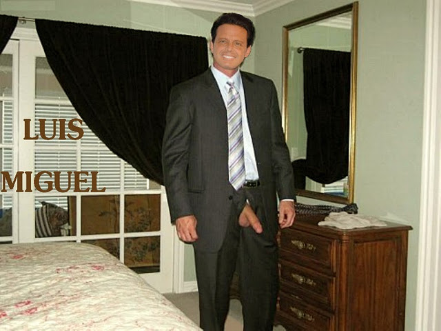 naked Luis miguel
