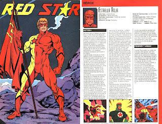 Estrella Roja Superheroe