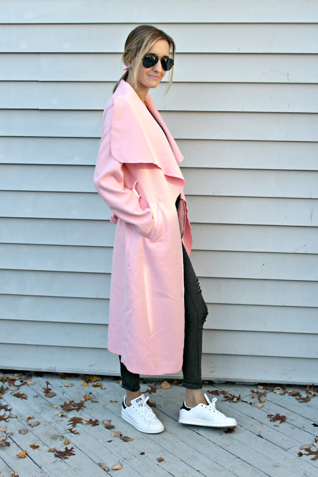 how to style pink in fall