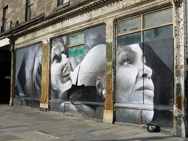 Street Art By Guido Van Helten On The Streets Of Edinburgh, Scotland. 5