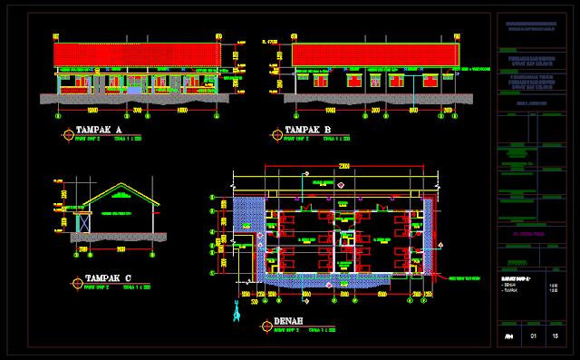 Gambar Kerja Rumah Sakit Lengkap Dengan Detail