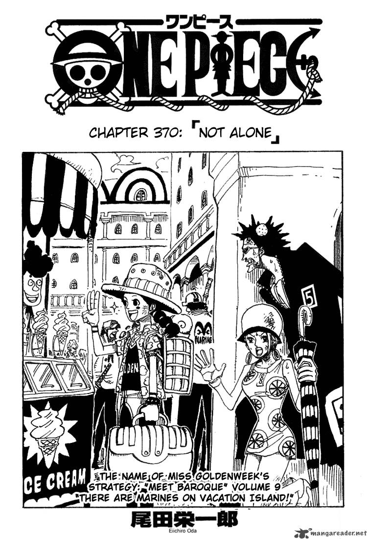 One Piece Ch 370