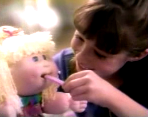 Snacktime Cabbage Patch Kid 1996 This One Had To Be Number Just Because It S What Got Me Thinking About Writing Post