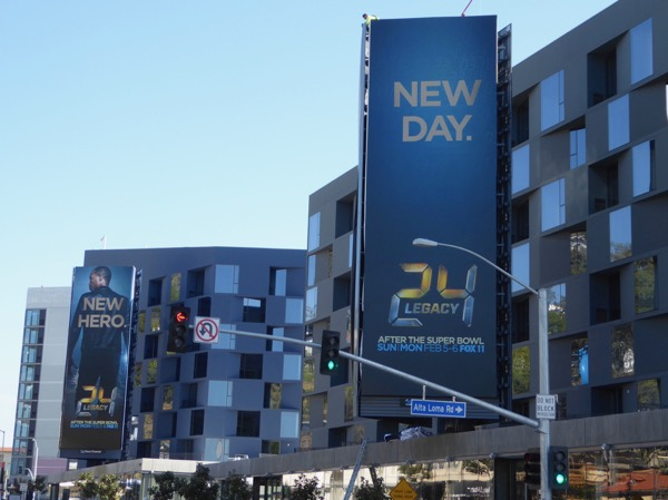 24 Legacy season 1 billboards Sunset Strip