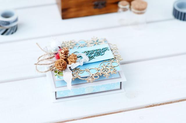 @veda_bakalova #скрапбукинг #подарочнаякоробка #подарочныйсертификат #ведабакалова #упаковкаподарка #коробочка