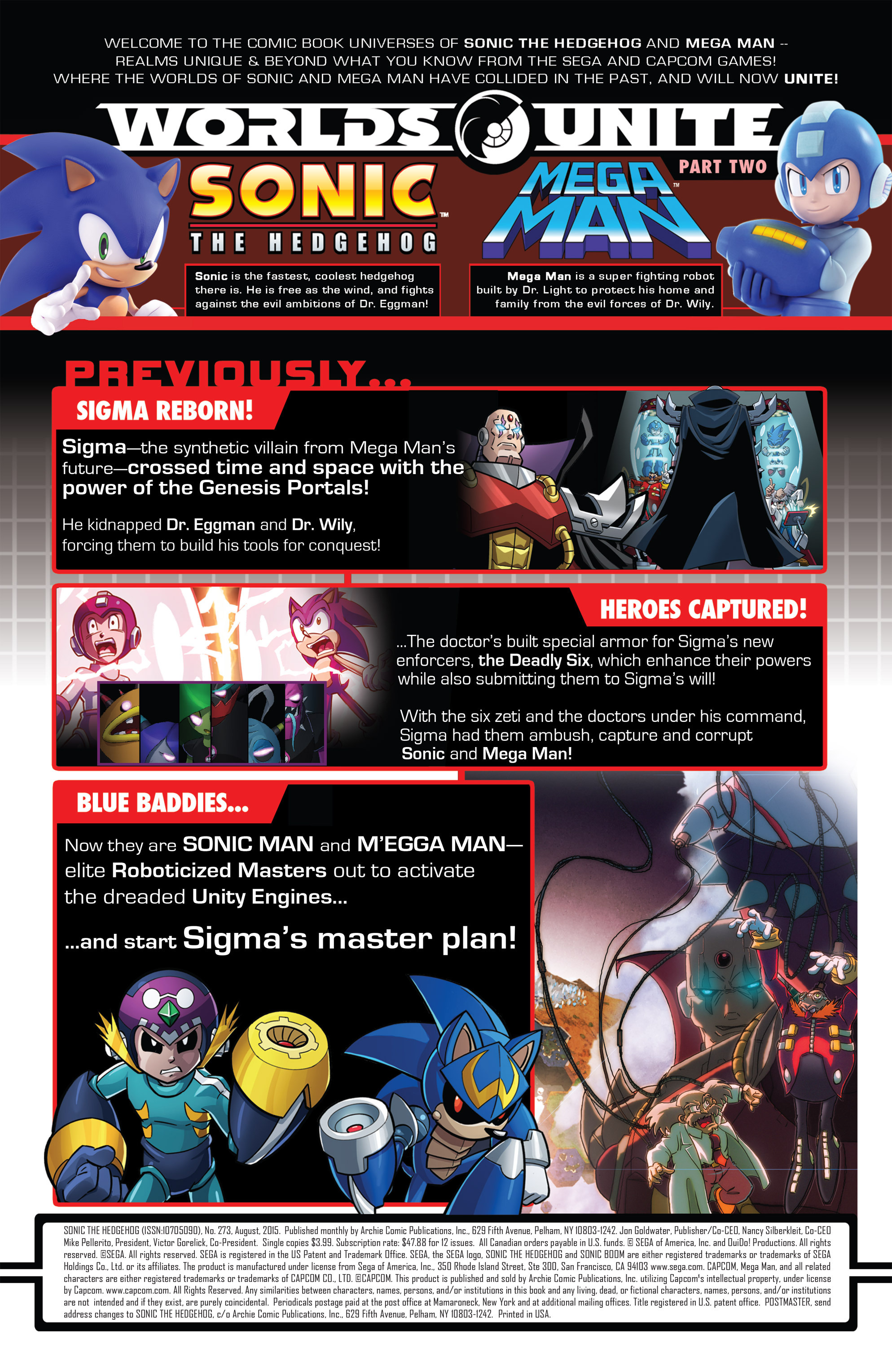 Read online Sonic The Hedgehog comic -  Issue #273 - 2