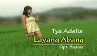 Lirik Lagu Layang Abang - Tya Adelia