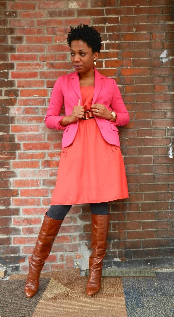 Spring Brights: Pink and Orange