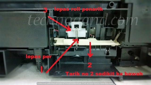 Printer Epson L110 L210 L300 L310 Menarik Kertas Lebih Dari Satu Lembar