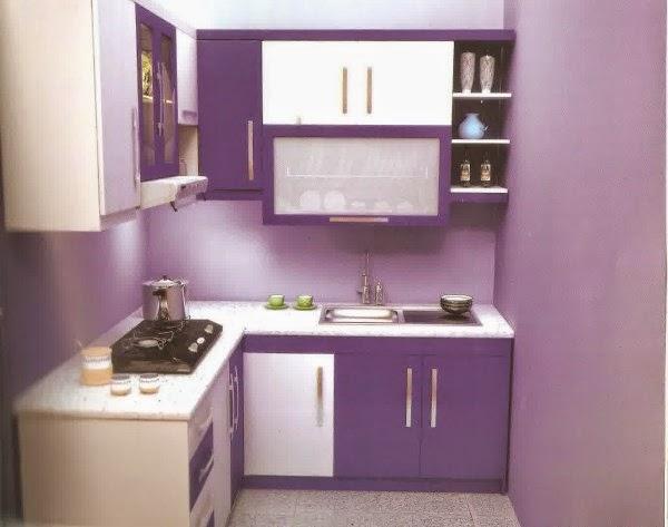 Desain dapur sederhana yang minimalis