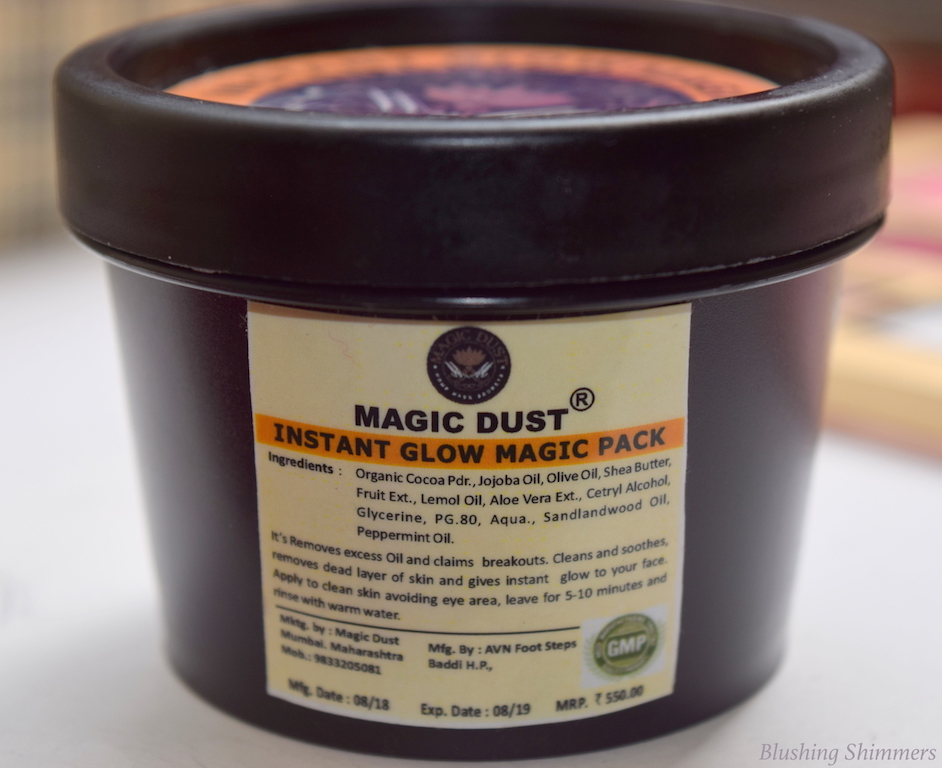 Magic Dust Instant Glow Magic Pack Review