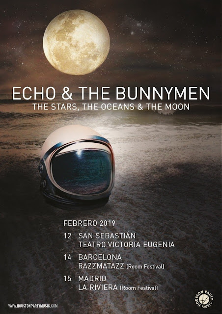 Echo & the Bunnymen, España, 2019