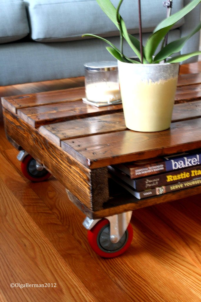 mango tomato diy make your own pallet coffee table. Black Bedroom Furniture Sets. Home Design Ideas