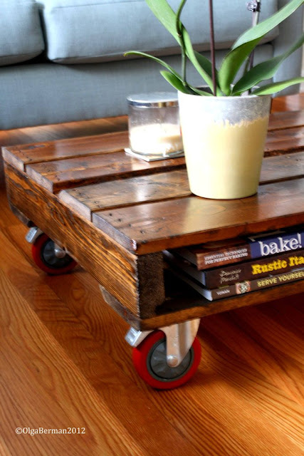 Mango Amp Tomato Diy Make Your Own Pallet Coffee Table