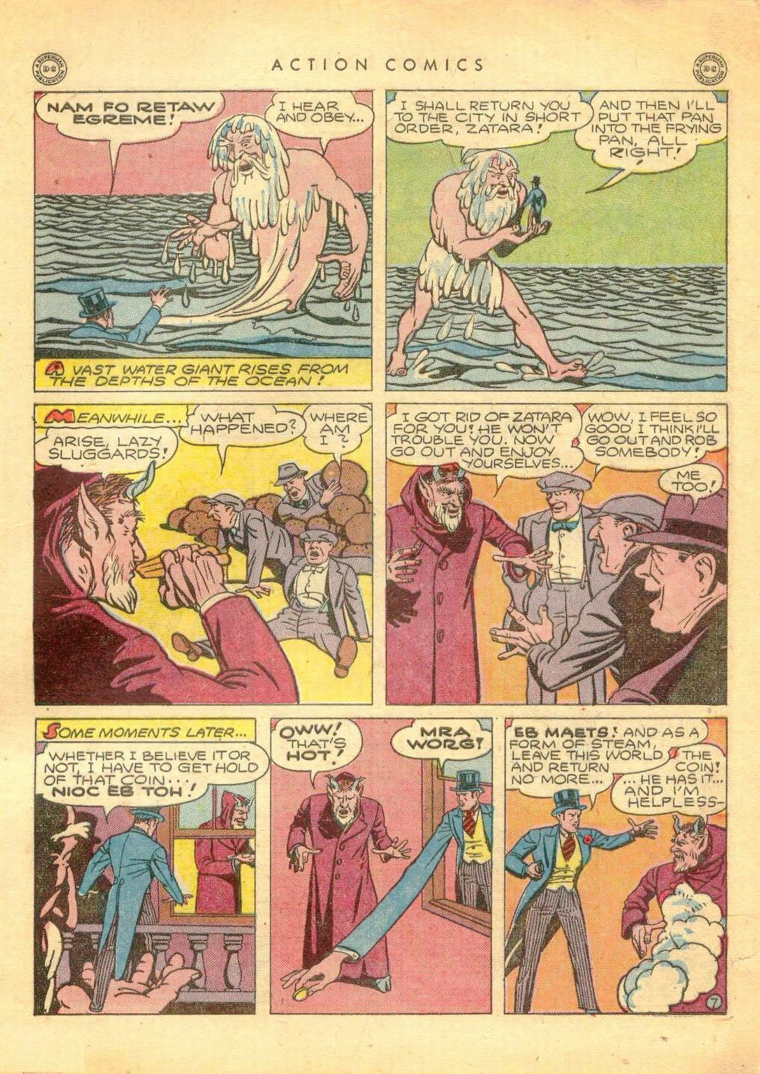 Read online Action Comics (1938) comic -  Issue #77 - 48
