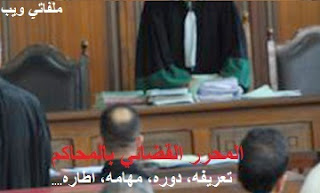 المحررين القضائيين