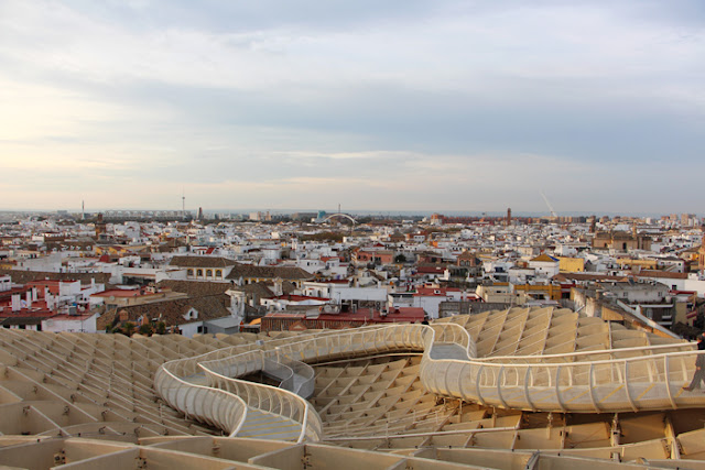 Sevilla Metropol Parasol / Setas von oben
