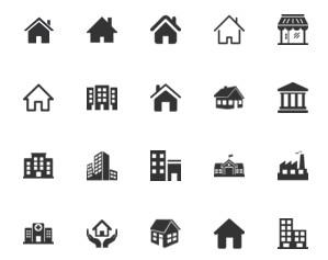 Kumpulan Icon Untuk Desain Denah
