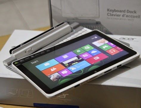 jual Acer Iconia W510 2nd