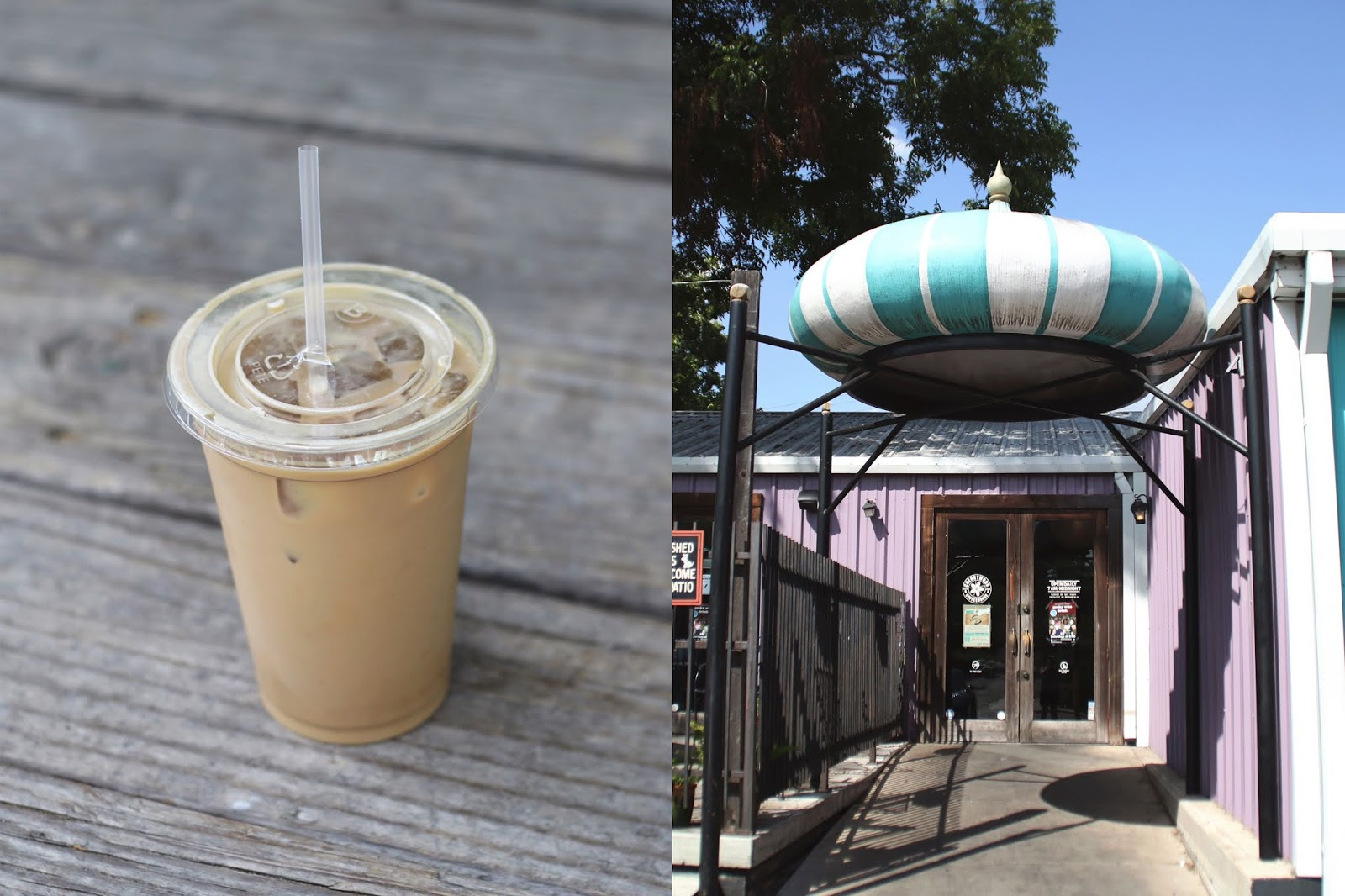 Cherrywood Coffee Austin, Iced Coffee, Cozy Coffee Shop, Coffee Shops Vibe