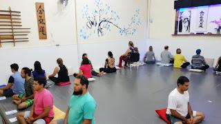 Fotos do 2° Workshop de Meditação