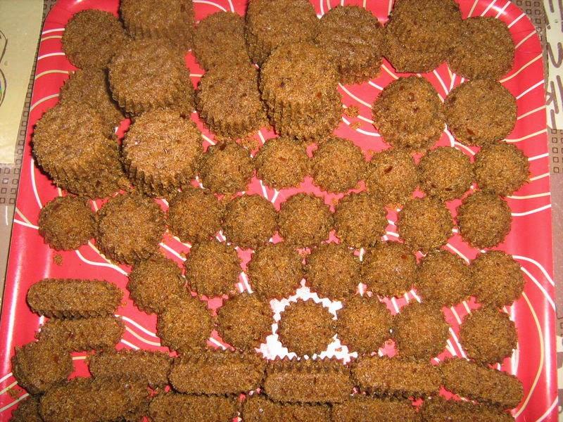 Recette des Rfiss (gâteau de semoule à la pâte de datte)