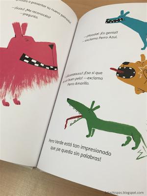 ¡Guau! reseña libro infantil