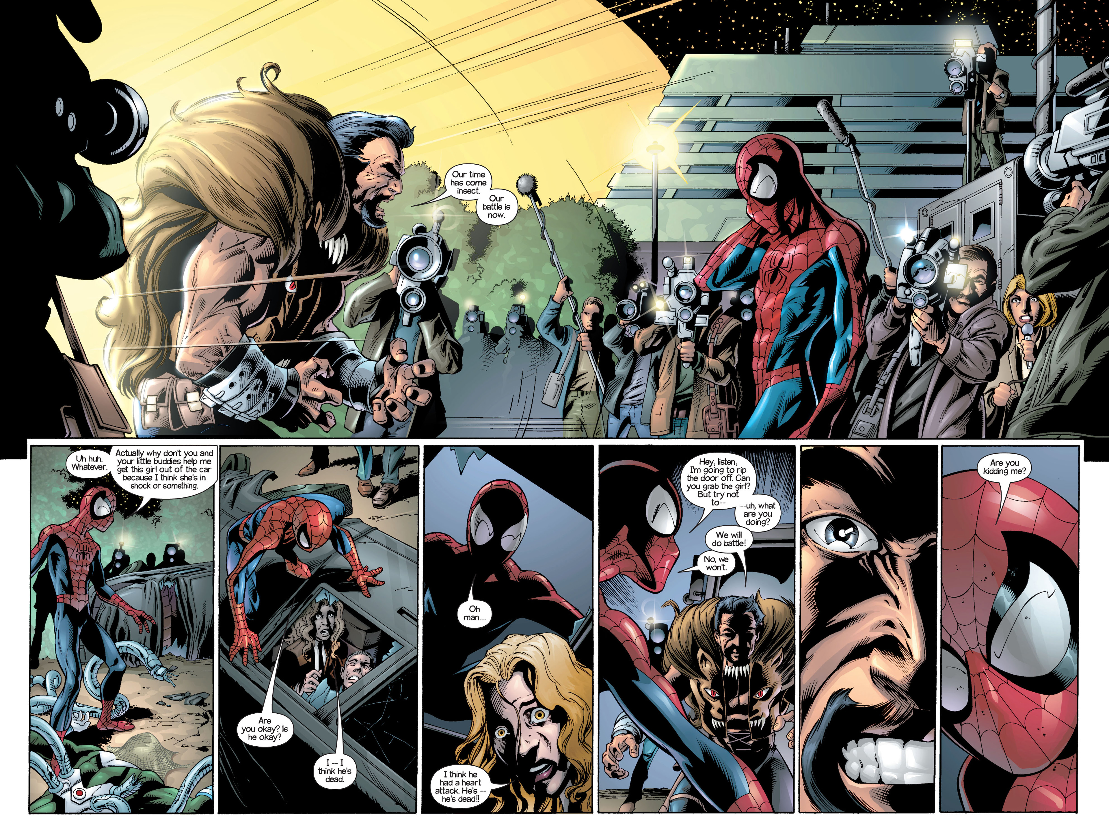Read online Ultimate Spider-Man (2000) comic -  Issue #21 - 3