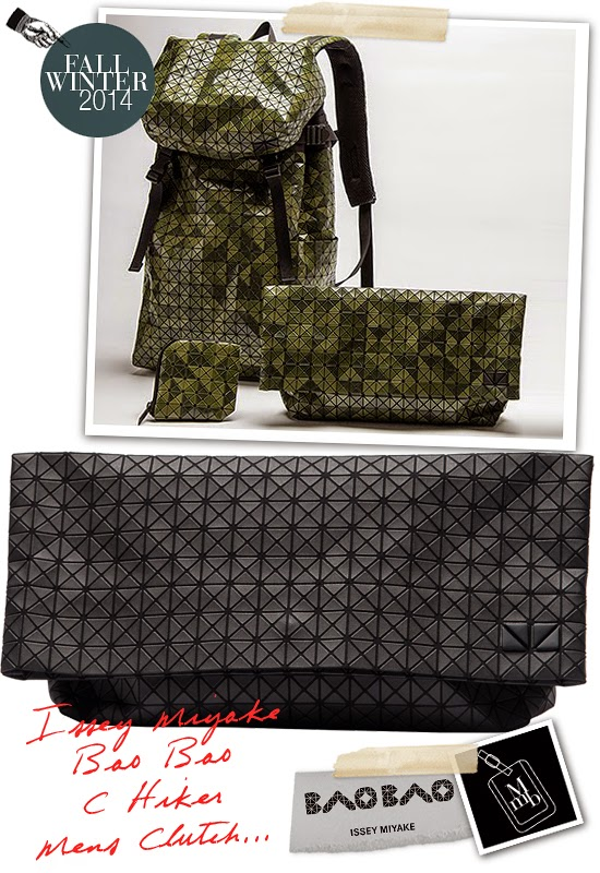 9761081034 Issey Miyake Bao Bao C Series Mens Clutch Bag