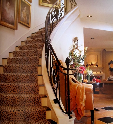 Animal Print Rug Runners For Stairs: Eye For Design: Decorating With Animal Prints And Hides