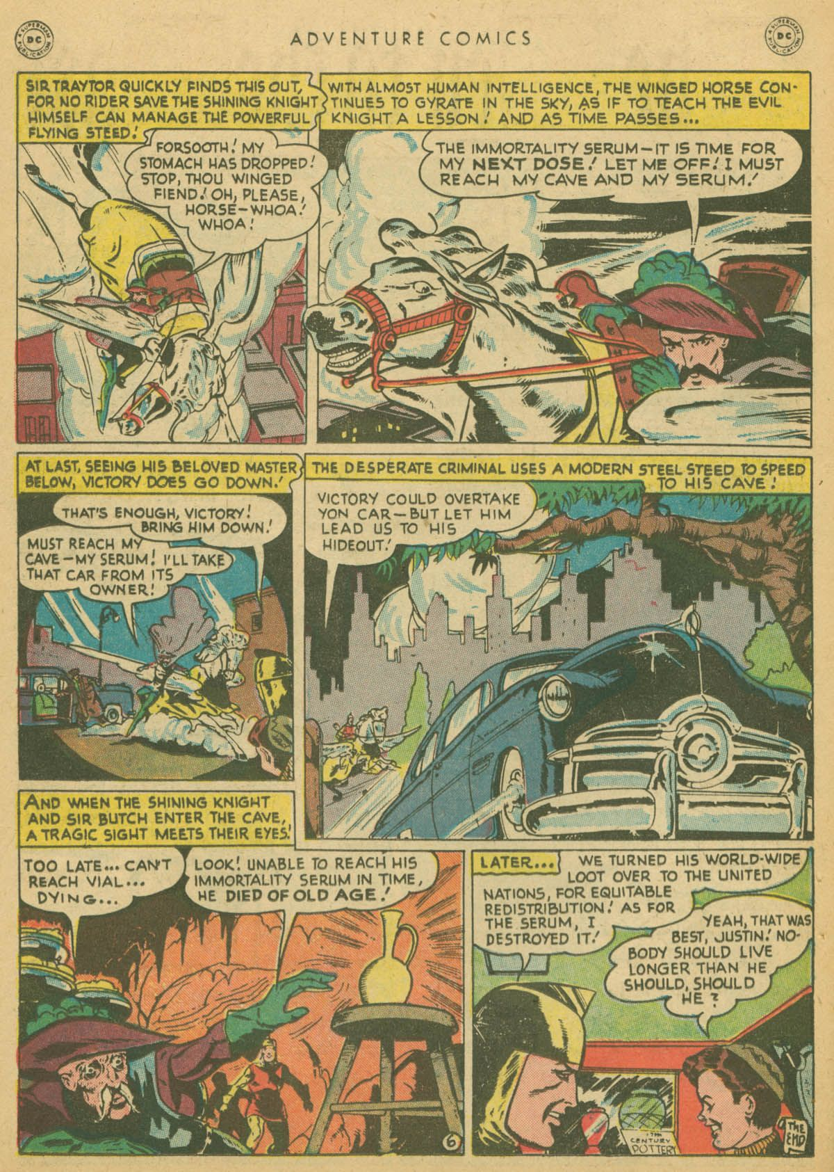 Read online Adventure Comics (1938) comic -  Issue #142 - 37