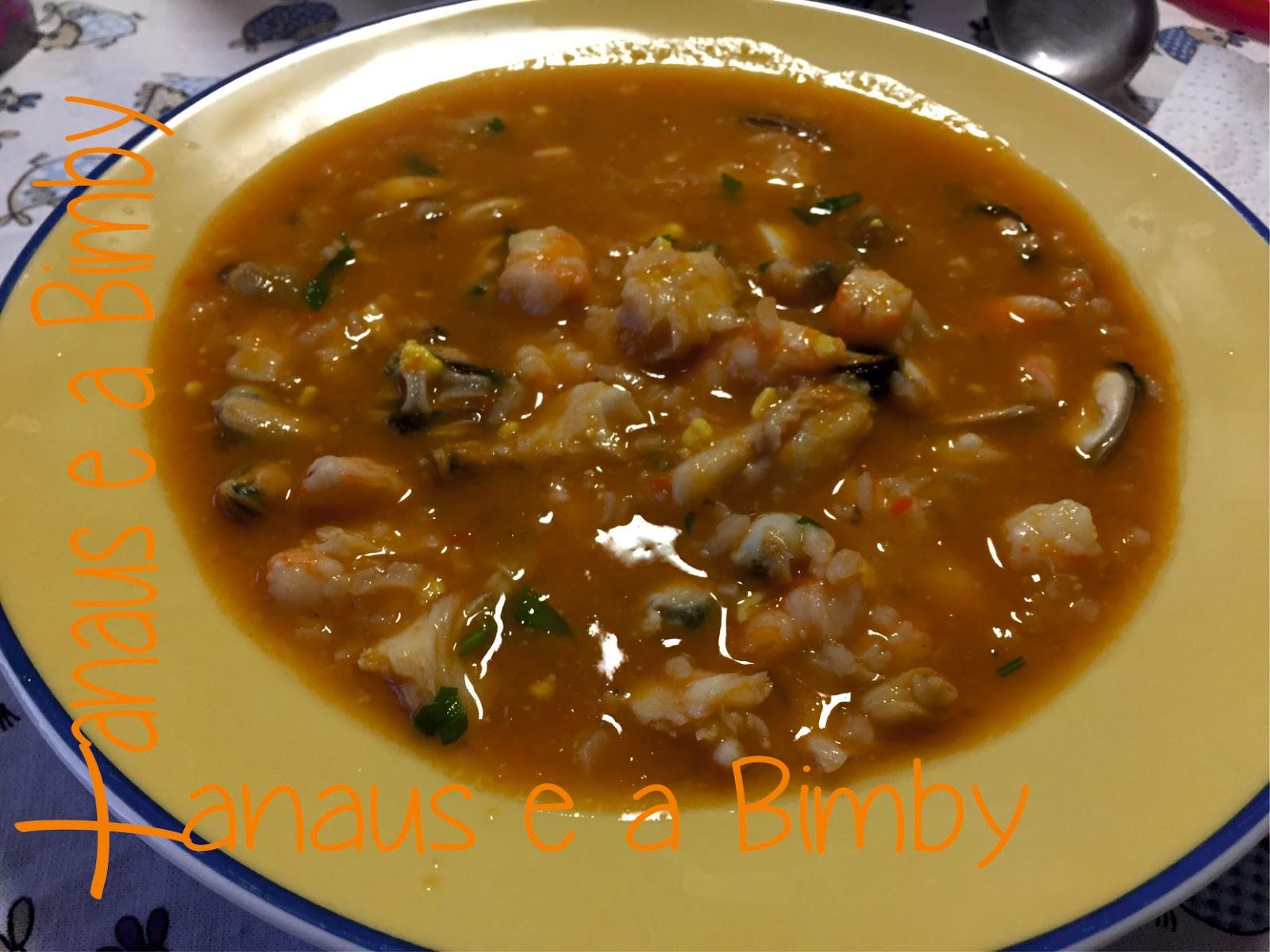 Sopa de Peixe versão Paleo na Bimby