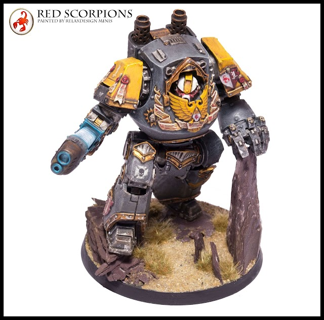 What's On Your Table: Relic Contemptor Dreadnought