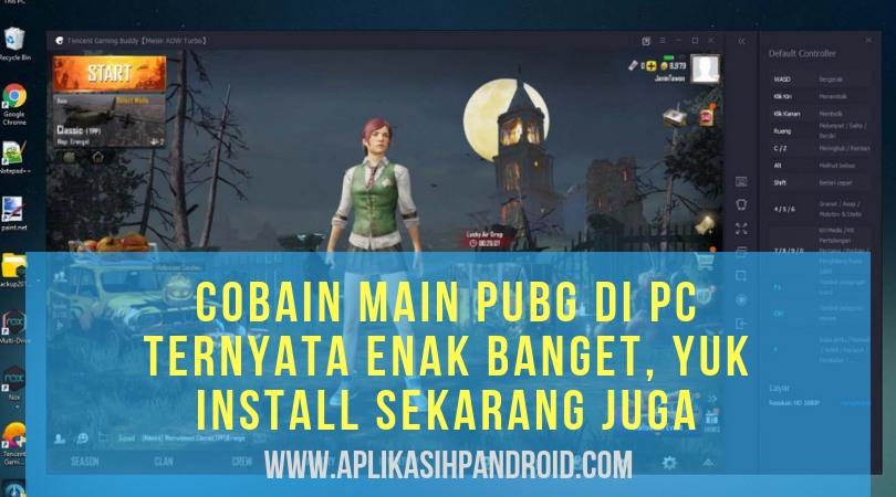 Cara bermain PUBG di PC dengan menggunakan software Tencent Gaming