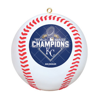 Royals World Series Ornament, KC Royals christmas tree ornaments