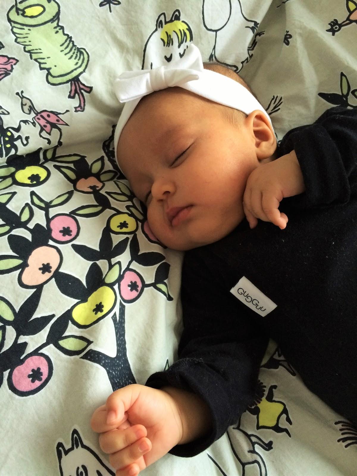 vauva ei nuku päiväunia